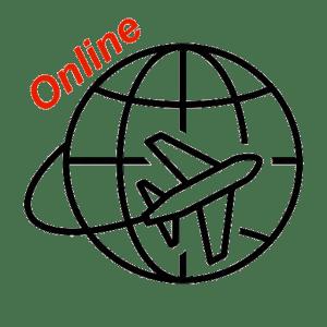 Логотип Визовый центр Online